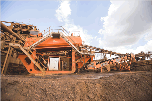 Construction CRM - Mining Equipment Installation